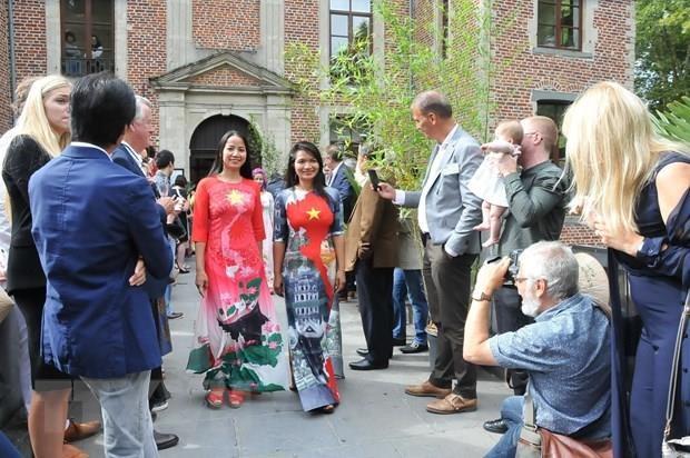 Vietnamese Day held in Belgium hinh anh 1