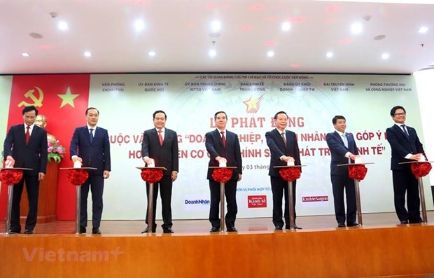Campaign collects businesses' recommendations for economic policies hinh anh 1