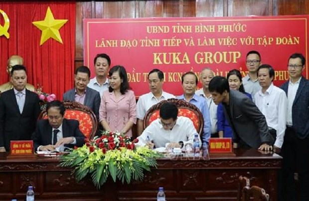 Chinese furniture maker invests 50 million USD in Binh Phuoc hinh anh 1