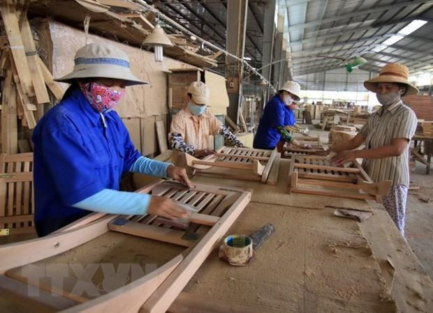 Forestry exports up over 18 percent hinh anh 1