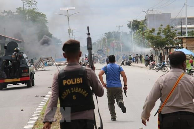 Indonesian police investigate violent protests in Papua, West Papua hinh anh 1