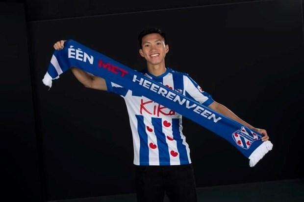 Vietnamese footballer signs contract with SC Heerenveen hinh anh 1