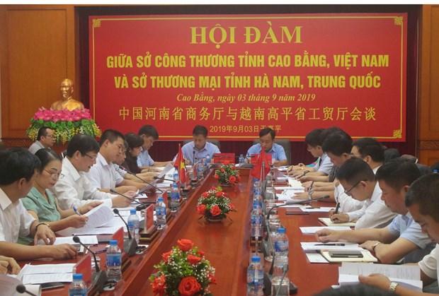 Cao Bang, China's Henan beef up trade cooperation hinh anh 1
