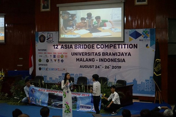 Can Tho University finishes fourth at 2019 Asia Bridge Competition hinh anh 1