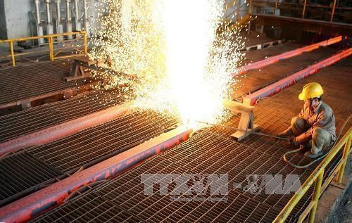 Leading steelmaker exports 165,000 tonnes in eight months hinh anh 1