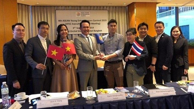 Vietnam assumes ASEAN Young Entrepreneurs Association chair hinh anh 1