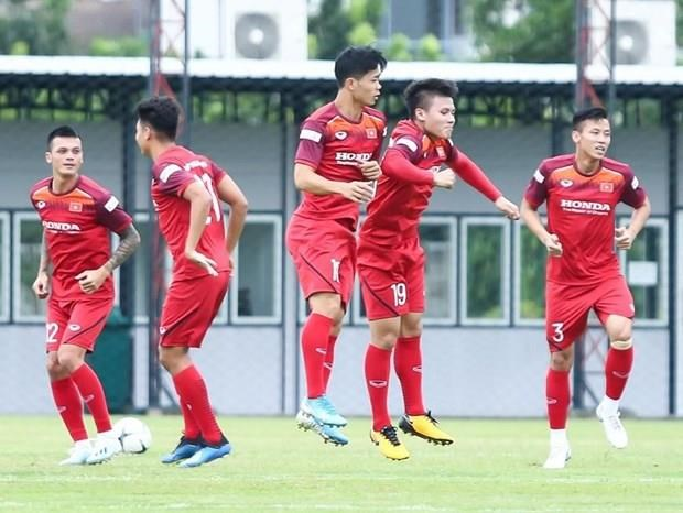 Vietnam unveil names for World Cup match against Thailand hinh anh 1