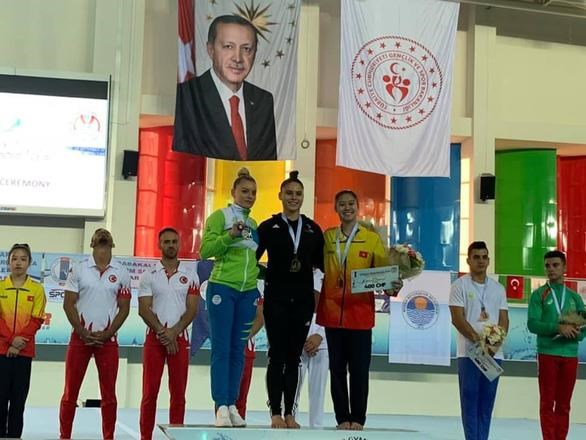 Vietnam wins two medals at World Gymnastics Cup hinh anh 1
