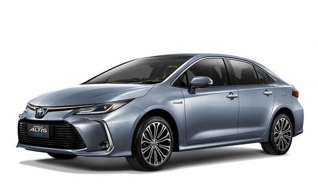 Toyota presents Corolla Altis hybrid sedan in Thailand hinh anh 1