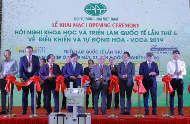 New, high-tech products displayed in Hanoi hinh anh 1