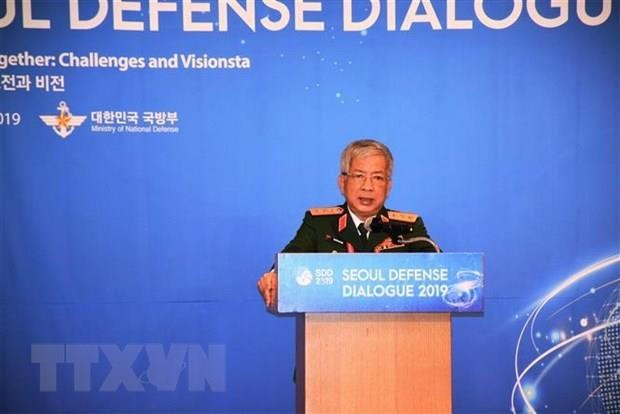 Vietnam's Deputy Defence Minister talks cyber security at 8th Seoul defence dialogue hinh anh 1