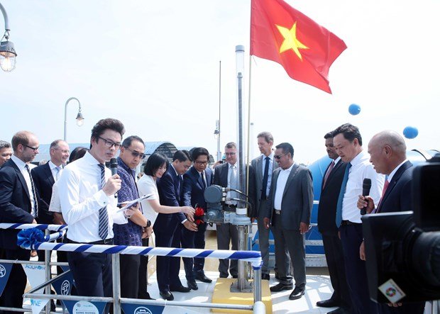 First phase of Duong River surface water plant inaugurated hinh anh 1