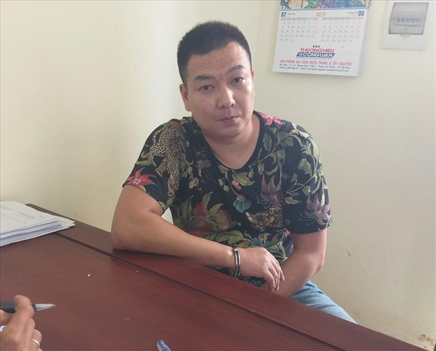 Quang Tri border guards capture wanted Chinese suspect hinh anh 1