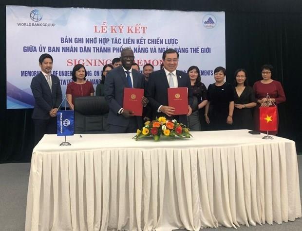 Da Nang, WB sign new deal on strategic connectivity hinh anh 1
