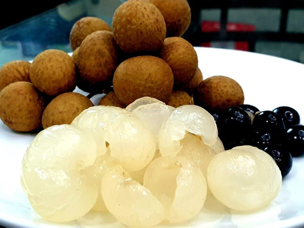 First batch of fresh Vietnamese longan arrives in Australia hinh anh 1