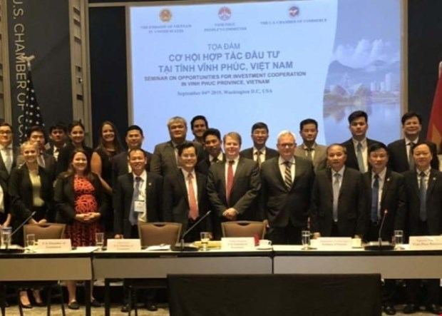 Vinh Phuc province promotes investment in Washington hinh anh 1