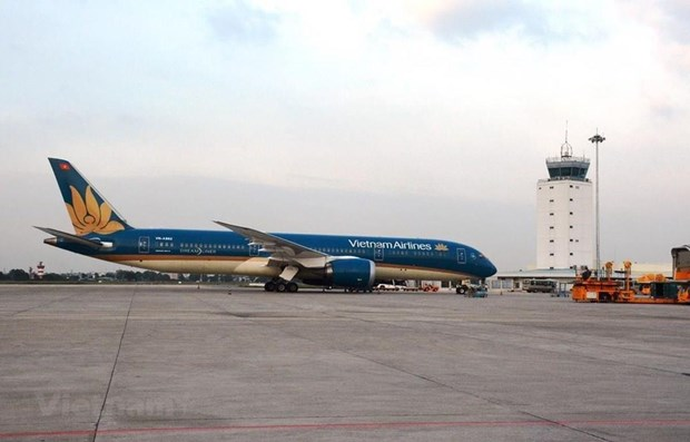 Vietnam Airlines adjusts flight schedule to RoK due to typhoon hinh anh 1