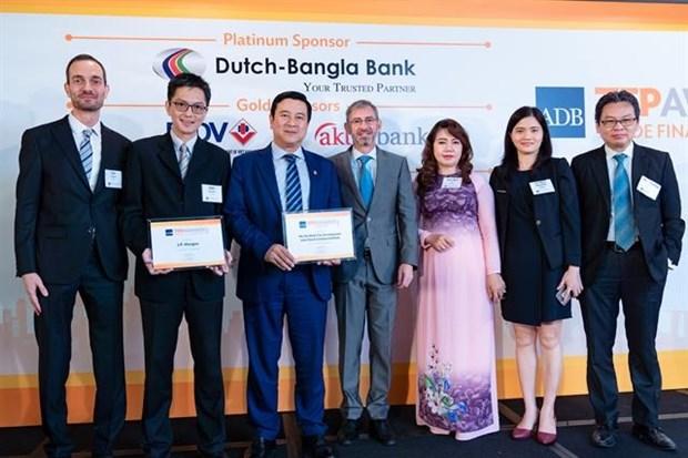 HDBank receives green finance award hinh anh 1