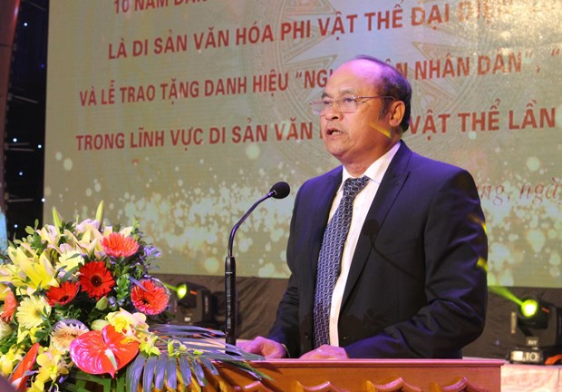 Bac Giang marks 10 years since world's recognition of folk arts hinh anh 1