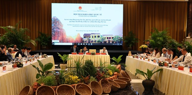 Locals essential to heritage value preservation, promotion: workshop hinh anh 1