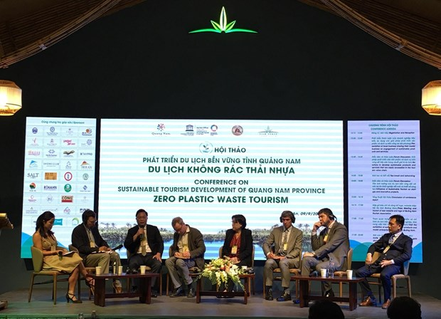 Quang Nam tourism eyes zero plastic waste hinh anh 1