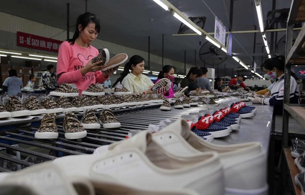 Footwear, handbag exports reel in nearly 14.5 bln USD in eight months hinh anh 1