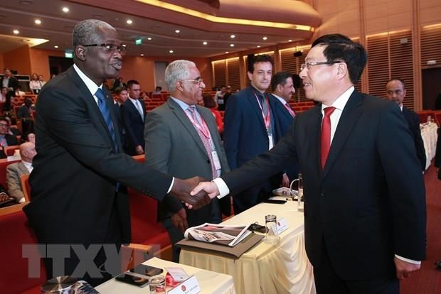 Middle East, African ambassadors hail economic cooperation with Vietnam hinh anh 1