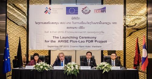 EU programme supports Laos' export hinh anh 1
