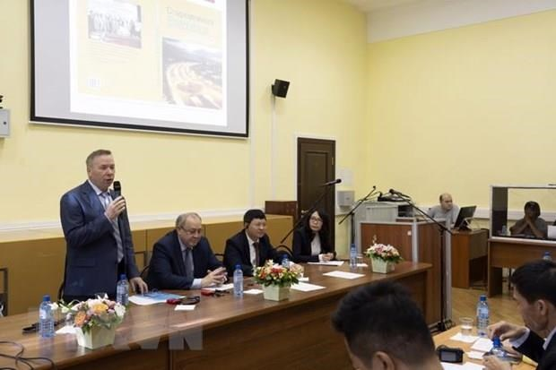 Moscow symposium spotlights late President's career, ideology hinh anh 1
