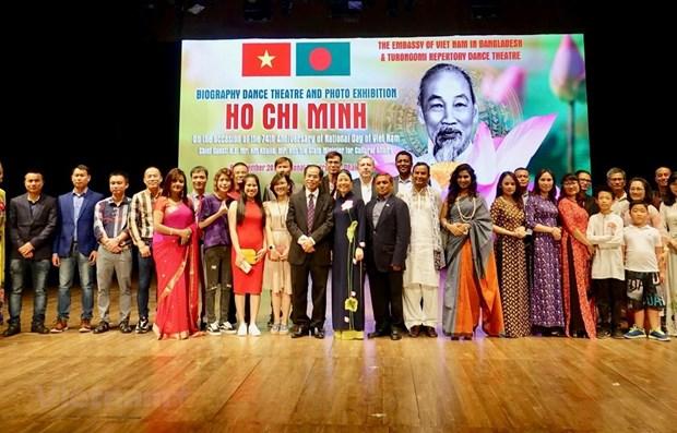 Bangladeshi artists bring Ho Chi Minh's life to stage hinh anh 1