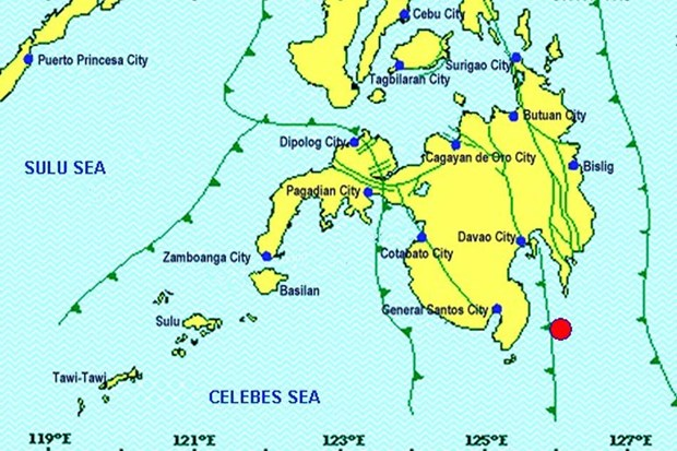 Earthquake jolts southern Philippines hinh anh 1