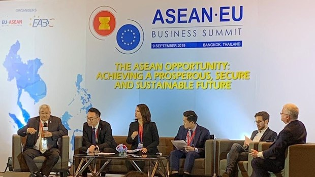 EU optimistic about FTA talks with Thailand hinh anh 1