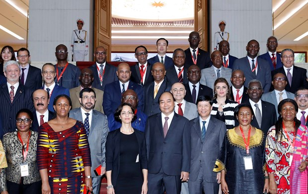 PM welcomes cooperation with Middle East-African countries hinh anh 2