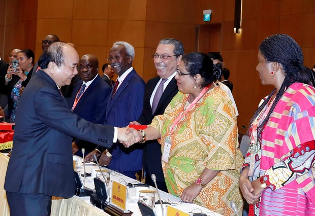 PM welcomes cooperation with Middle East-African countries hinh anh 1