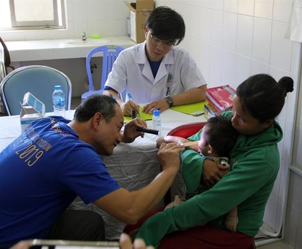 Over 200 children receive cleft lip, palate jaw checkups hinh anh 1