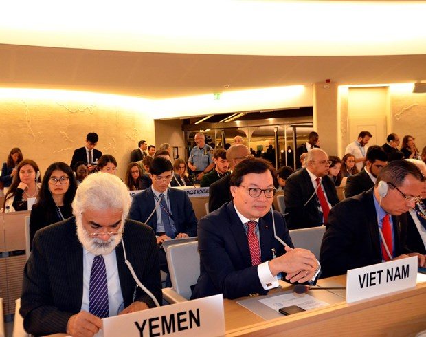 Vietnam attends UNHRC's 43nd session on climate change hinh anh 1