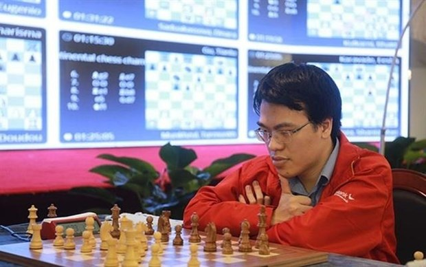 Top Vietnamese chess players compete at World Cup hinh anh 1