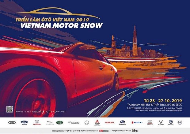 Vietnam Motor Show 2019 to feature 15 top brands hinh anh 1