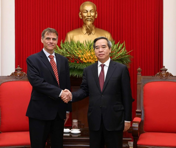 Vietnam values economy-trade cooperation with US: Party official hinh anh 1