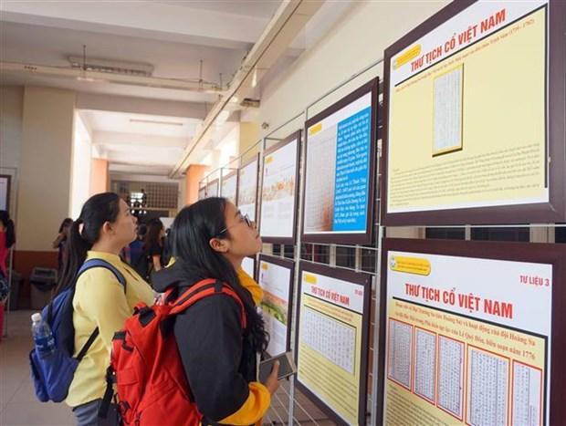 Exhibition on Hoang Sa, Truong Sa opens in HCM City hinh anh 1