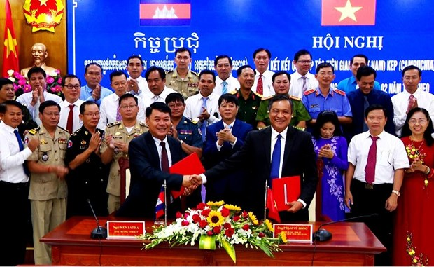 Kien Giang strengthens cooperation with Cambodian province hinh anh 1