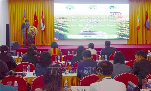 Mekong sub-region countries share experience in agricultural extension hinh anh 1