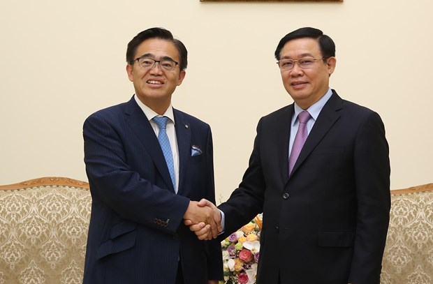 Deputy PM receives Governor of Japan's Aichi prefecture hinh anh 1