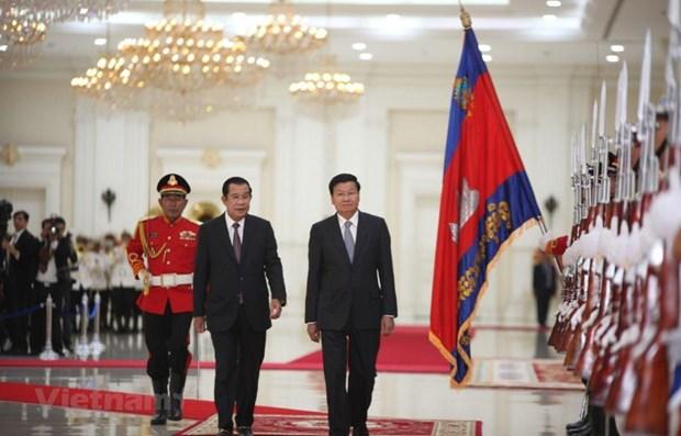 Cambodia, Laos set up comprehensive strategic partnership hinh anh 1