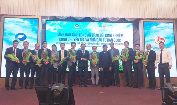 RoK investors hail Long An province's potential for smart city hinh anh 1