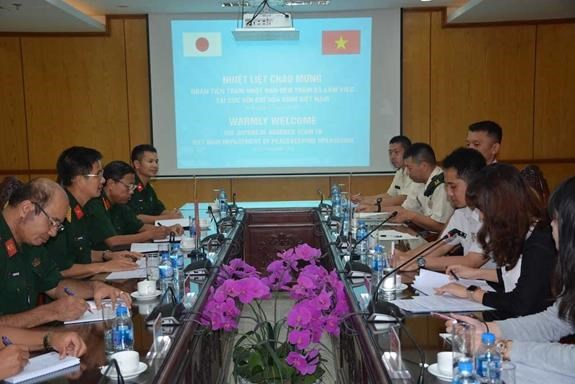 Vietnam, Japan to hold training course for sappers hinh anh 1