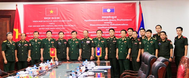 Vietnam, Laos to step up cooperation in border safeguarding hinh anh 1