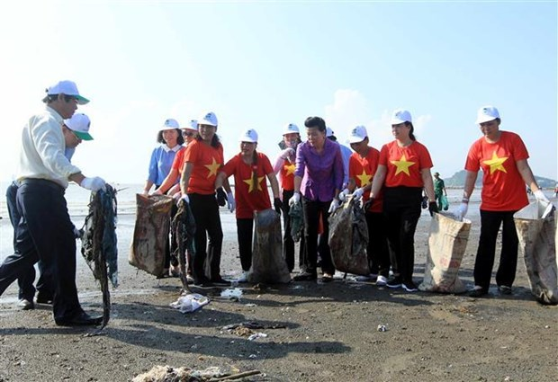 "Vietnam responds to ""Clean up the world"" campaign hinh anh 1"