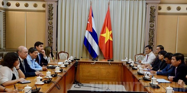 HCM City steps up investment ties with Cuba hinh anh 1