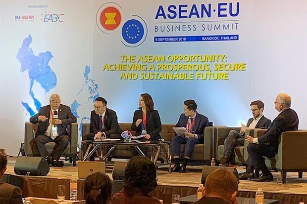 EU – Thailand FTA talks to be resumed hinh anh 1